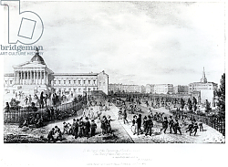 Постер Шарф Джордж (грав) University College School, London, 1835
