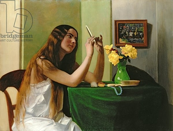 At the Dressing Table, 1911
