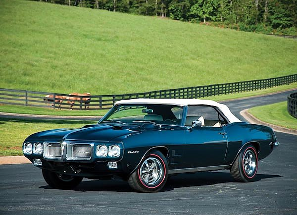 Pontiac Firebird 400 Ram Air IV Convertible '1969