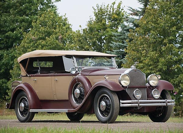 Packard Eight Dual Cowl Sport Phaeton (833) '1931