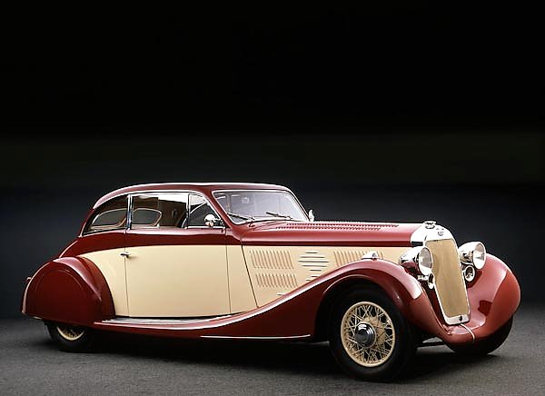 Delage D8 105 Sport Aerodynamic Coupe by Letourneur & Marchand '1935