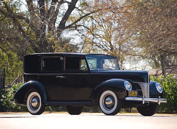 Ford Model 01A Panel Brougham by Rollson '1940