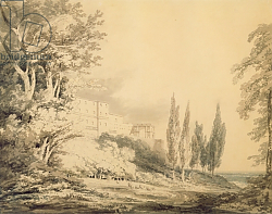 Постер Тернер Уильям (William Turner) Villa d'Este, c.1796