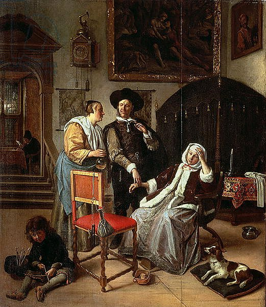 Physician's Visit, c.1663-65