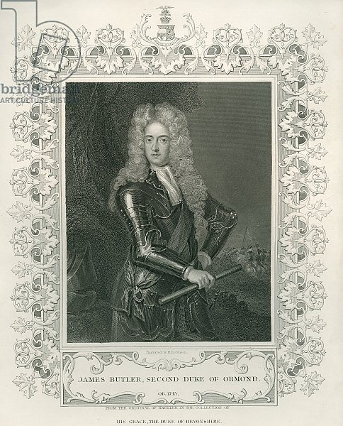 James Butler, 2nd Duke of Ormond, engraved by Henry Robinson