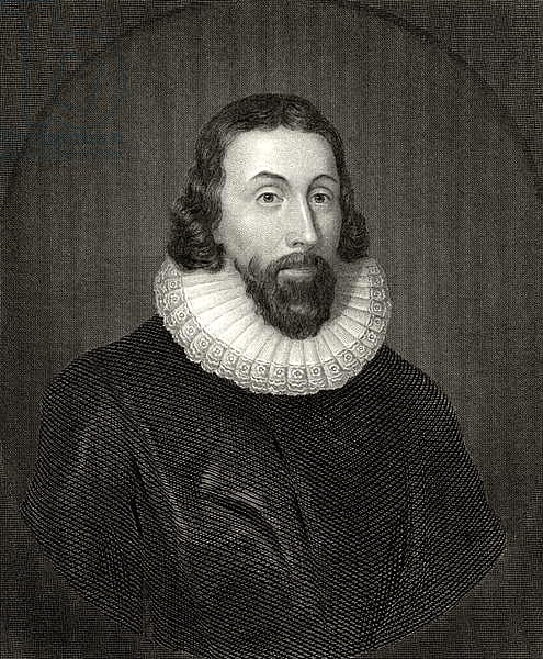 John Winthrop, engraved by Charles William Sharpe