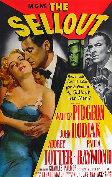 Film Noir Poster - Sellout, The