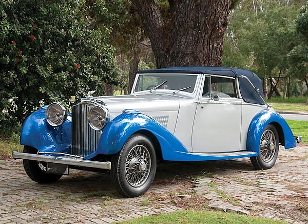 Bentley 4 1 4 Litre Derby Convertible '1936