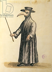 Постер Гревенброк Ян Venetian Doctor during the time of the plague