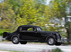 Постер Packard Twelve 5-passenger Coupe (1407) '1936