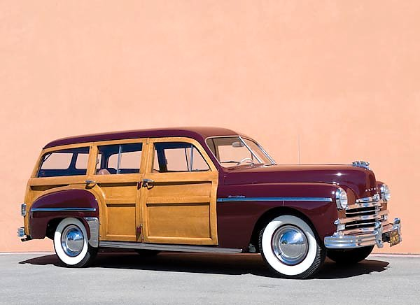 Plymouth Special Deluxe Woody Station Wagon '1950