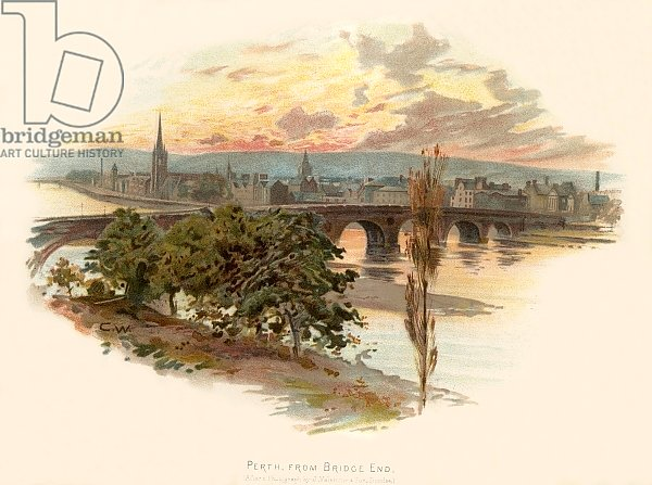 Perth, from Bridge End