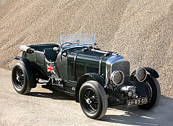 Постер Bentley 4 1 2 Litre Vanden Plas Open Tourer '1929–30