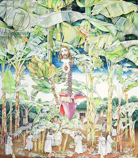 Miraculous Vision of Christ in the Banana Grove, 1989