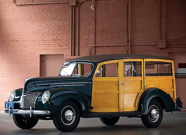 Ford Deluxe Station Wagon '1939