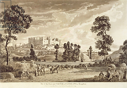 Постер Сэндби Поль Part of the Town and Castle of Ludlow in Shropshire, 1779
