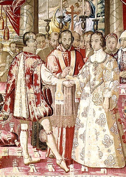 The Charles V Tapestry depicting the Marriage of Charles V, c.1630-40