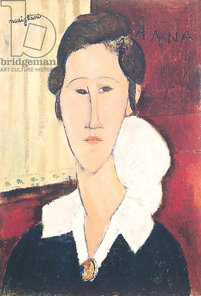 Portrait of Madame Hanka Zborowska, 1917