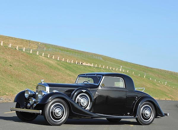 Bentley 3 1 2 Litre Fixedhead Coupe by Kellner '1935