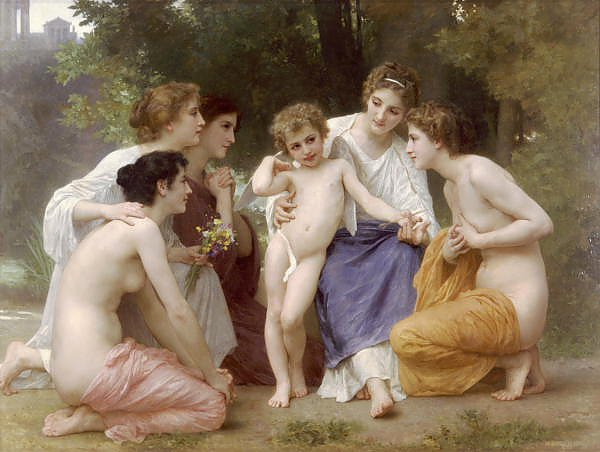 Постер Бугеро Вильям (Adolphe-William Bouguereau) Восхищение