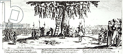 Постер Калло Жак The Hanging, plate 11 from 'The Miseries and Misfortunes of War', engraved by Israel Henriet 1633
