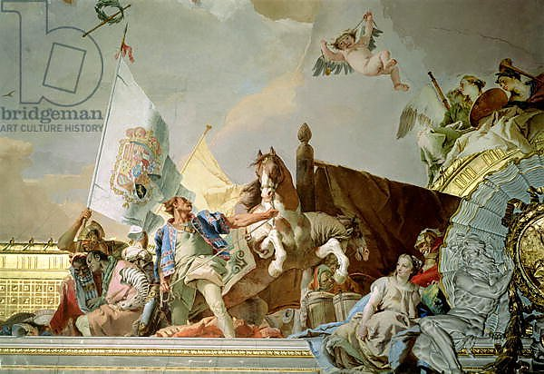 The Glory of Spain I, from the Ceiling of the Throne Room, 1764