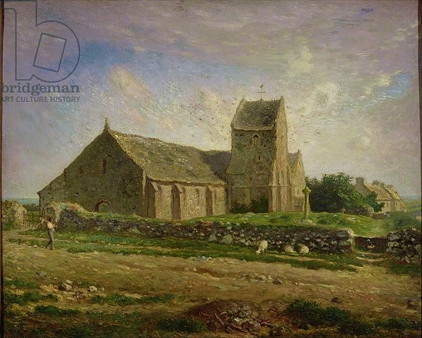 The Church at Greville, c.1871-74