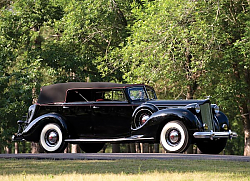 Постер Packard Twelve Convertible Sedan '1938