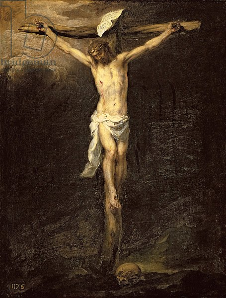 Christ on the Cross, 1672