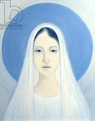 Постер Ванг Элизабет (совр) The Virgin Mary, Our Lady of Harpenden, 1993