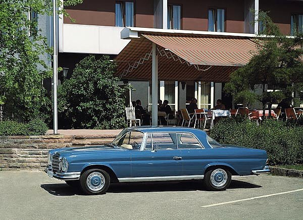 Mercedes-Benz 280SE 3.5 Coupe (W111 W112) 1969–71