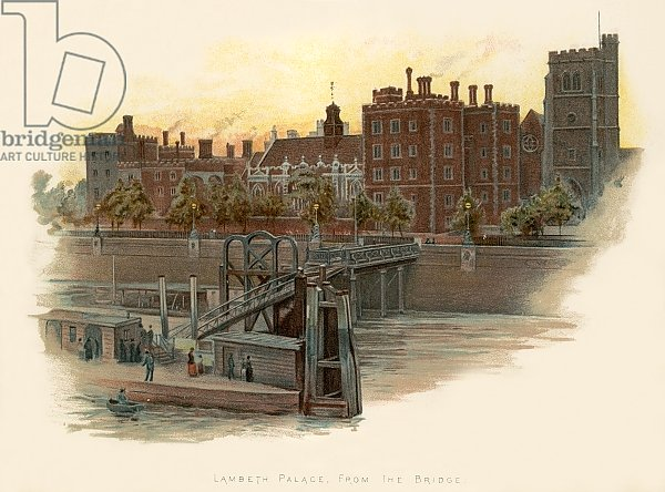 Lambeth Palace, from the bridge