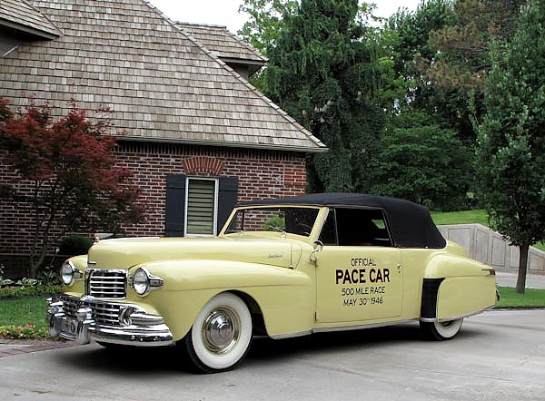 Lincoln Continental Indy Pace Car '1946