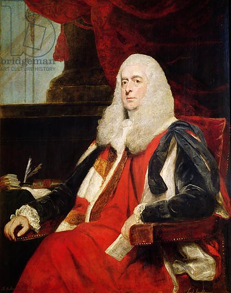 Alexander Loughborough, Earl Rosslyn and Lord Chancellor, 1785