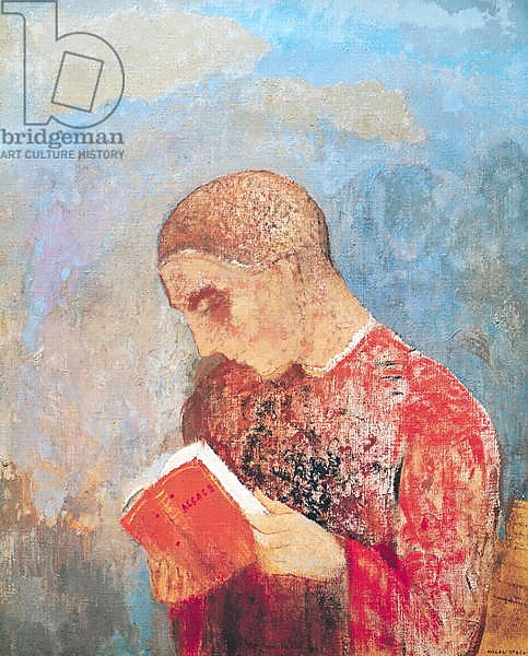 Alsace or, Monk Reading, c.1914