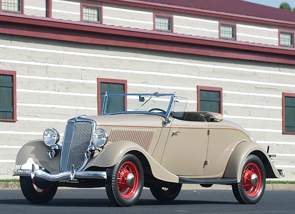 Ford V8 Deluxe Roadster '1934
