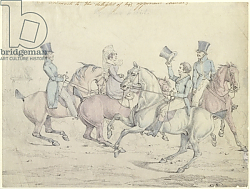 Постер Олкен Генри (охота) Morning Ride, original drawing for plate 12 of 'Scenes in the Life of Master George'