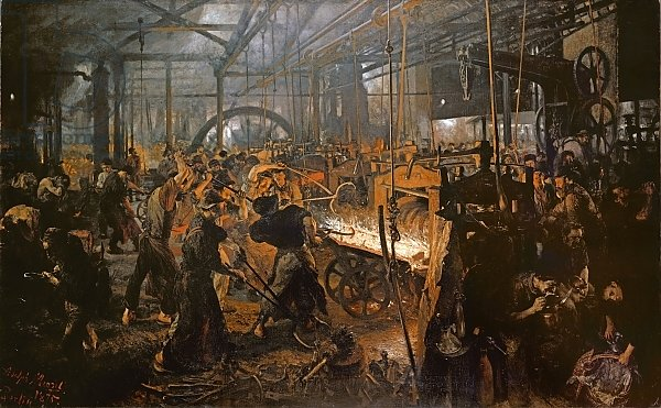 The Iron-Rolling Mill, 1875