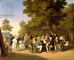 Постер Бойли Луи Politicians in the Tuileries Gardens, 1832