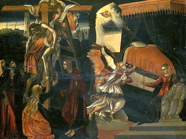 The Annunciation and the Deposition