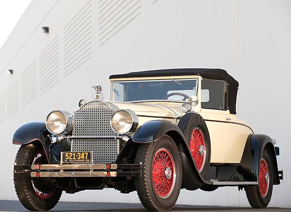 Packard Custom Eight Convertible Coupe by Dietrich '1928