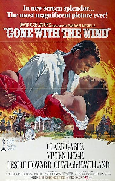 Poster - Gone With The Wind 3