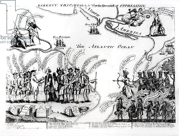 Liberty Triumphant, or the Downfall of Oppression, 1773