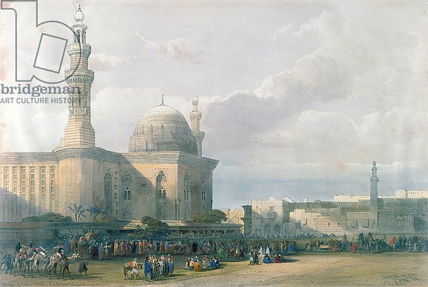 Mosque of the Sultan Hasan from the Great Square of Rumeyleh, Cairo, from