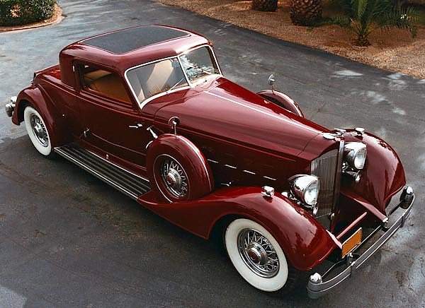 Packard Twelve Sport Coupe by Dietrich '1933