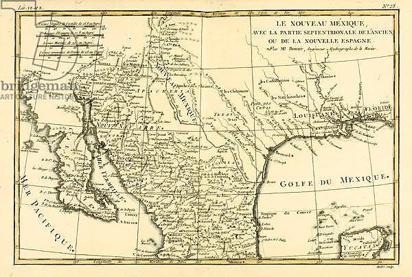 Northern Mexico, 1780