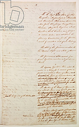 Постер Школа: Америка (18 в) First draft of the Constitution of the United States, 1787