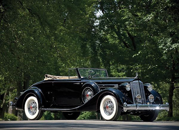 Packard Twelve Coupe Roadster '1936