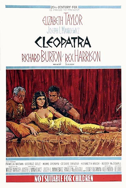 Poster - Cleopatra (1963) 4